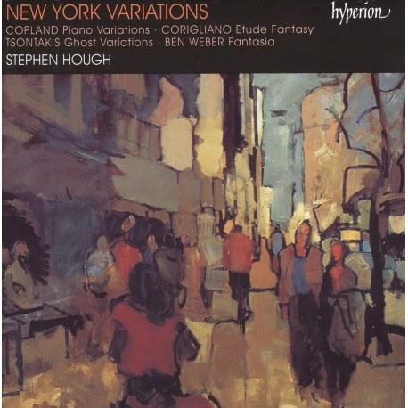 New York Variations - Stephen Hough (Audio CD)