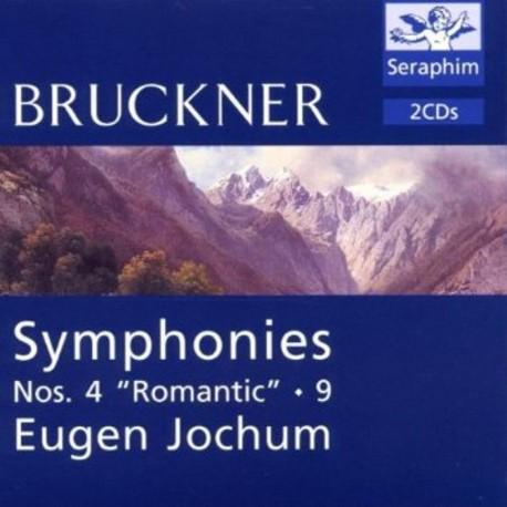Anton Bruckner: Symphonies 4 and 9 (Audio CD)