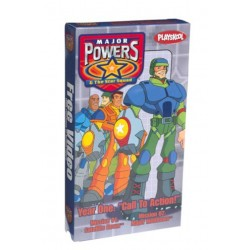 Major Powers & The Star Squad (VHS)