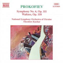 Prokofiev: Symphony 6, Op. 111 / Waltzes, Op. 110 (Audio CD)