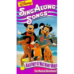 Sing Along Songs - Beach Party At Walt Disney World (VHS)