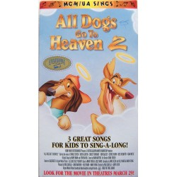 All Dogs Go To Heaven 2 Sing Along: 3 Sing Along Songs (VHS)