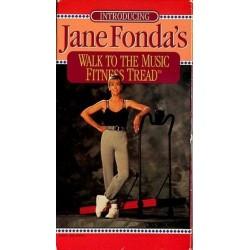 Jane Fonda's Walk To The Music Fitness Tread (VHS)