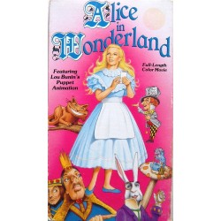 Alice In Wonderland (VHS)