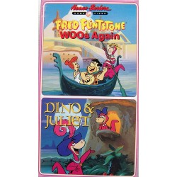 Fred Flintstone Woos Again // Dino & Juliet (VHS)