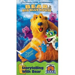 Bear in the Big Blue House: Storytelling With Bear (VHS)