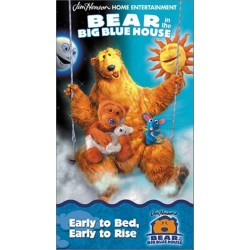 Bear in the Big Blue House: Early to Bed, Early to Rise (VHS)