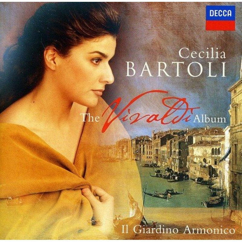 Cecilia Bartoli: The Vivaldi Album (Audio CD) - Arz Libnan