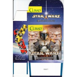 Star Wars Curad Holographic Boba Fett Bandages Box [30 Assorted Bandages]
