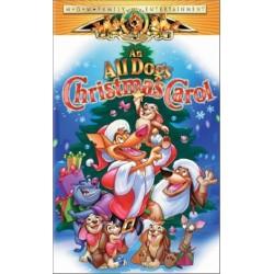 An All Dogs Christmas Carol (VHS)