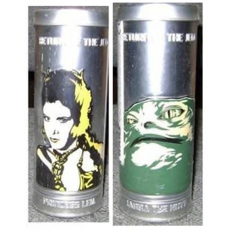 Star Wars Reversible Watch in Collectible Tin - Princess Leia / Jabba The Hutt