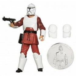 Star Wars Attack Of The Clones - Clone Trooper Training Fatigues with Exclusive Collector Coin