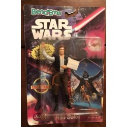 Star Wars Action Figure (Bend-Ems) Trading Card Enclosed - Han Solo