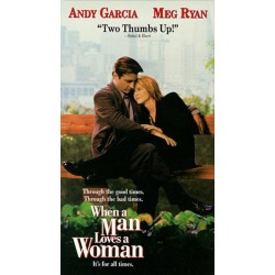 When A Man Loves A Woman (VHS)