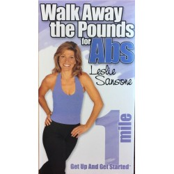 Leslie Sansone: Walk Away the Pounds 1 Miles for Abs (VHS)