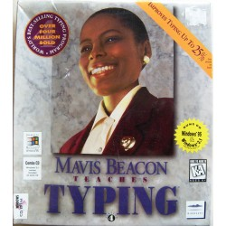 Mavis Beacon Teaches Typing - Software (CD-Rom)