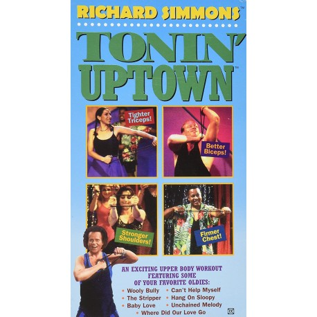 Richard Simmons: Tonin' Uptown (VHS)