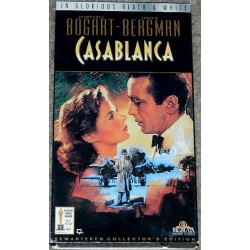Casablanca - Remastered Collector's Edition (VHS)