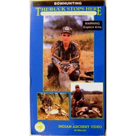 Bow Hunting: The Buck Stops Here (VHS)