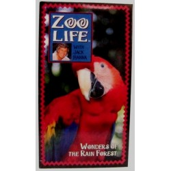 Zoo Life with Jack Hanna: Wonders of The Rain Forest (VHS)