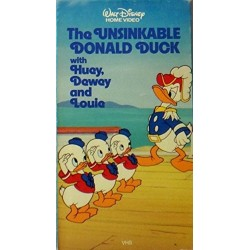 The Unsinkable Donald Duck with Huey, Dewey, and Louie (VHS)