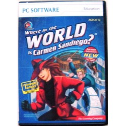 Where in the World is Carmen Sandiego? - PC CD Game