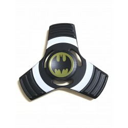 Fidget Spinner Toy Stress Reducer (Batman Black - Aluminum)