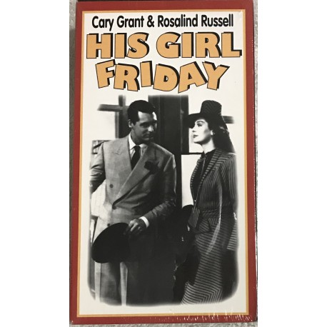 His Girl Friday (VHS)