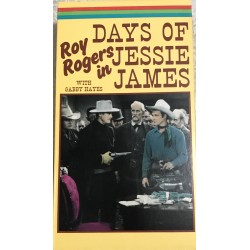 Days of Jessie James (VHS)
