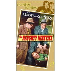Abbott and Costello: The Naughty Nineties (VHS)