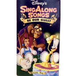 Sing Along Songs - Be Our Guest Vol. 10 (VHS)