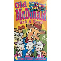 Sing-A-Long Songs - Old McDonald Had A Farm (VHS)