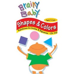 Brainy Baby - Shapes & Colors (VHS)