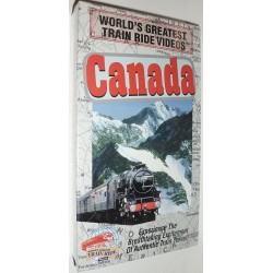 World's Greatest Train Ride Videos: Canada (VHS)