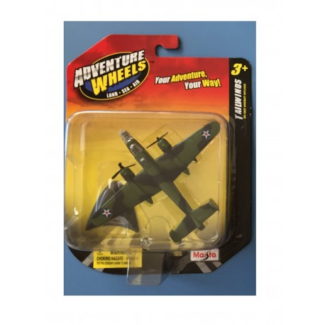 B-25 Mitchell (Adventure Wheels, Land Sea Air) by Maisto Tailwinds