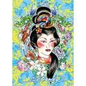Ed Hardy: Geisha - Ravensburger 1000 Piece Puzzle