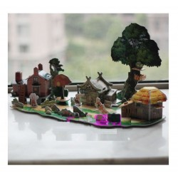 The Three Little Pigs - My 3D Fairy Tale 103 Piece Puzzle