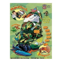 """Buddy """"the Serviceman"""" Bull Dog - Master Pieces 36 Piece Really Big Puzzle"""