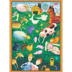 Old MacDonald's Farm - Master Pieces 36 Piece Really Big Puzzle