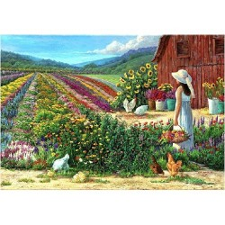 Puzzle for an Evening: Country Living - FX Schmid 250 Piece Puzzle