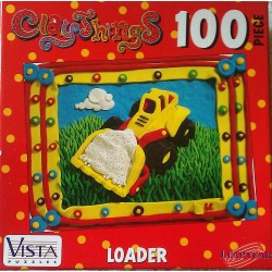 Clay Things: Loader - Pfizer Vista Puzzles 100 Piece Puzzle