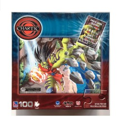 Chaotic: Maxxor - Sure-Lox 100 Piece Puzzle