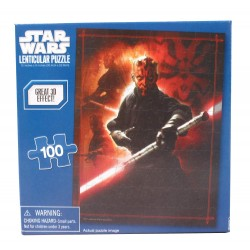 Star Wars: Darth Maul - Cardinal Industries Inc 100 Piece Puzzle