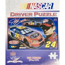 Nascar Driver Puzzle: Jeff Gordon 24 - American Logo Products 150 Piece Puzzle