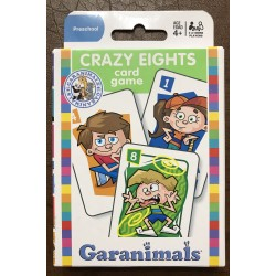 Crazy Eights by Garanimals (Card Game)