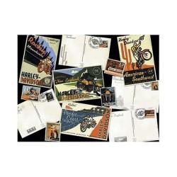 Harley Davidson: Destinations - FX Schmid 500 Piece Puzzle