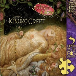 Glitter Glow Kinuko Craft: Sleeping Beauty - Master Pieces 550 Piece Puzzle