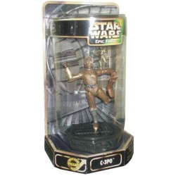 C-3PO: Rotate Figure 360° - Star Wars Epic Force Series