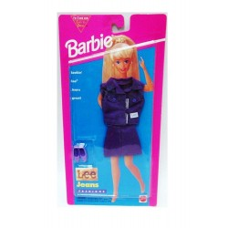 Barbie Purple Lee Jeans Fashions - Outfit