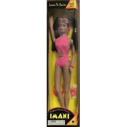 Imani Loves to Swim: The African American Princess - Olmec Toys No. 30013